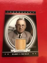 2009 Topps American President Harry S Truman White House Floor Mint - $242.43