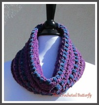 CROCHET PATTERN, Blueberry Hill Cowl, crochet pattern, scarf, ladies fas... - $0.00