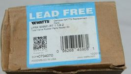 Watts LFRK909M1RT 1 1/4 Inch to 2 Inches Total Valve Rubber Parts Repair Kit image 5