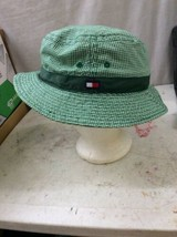 81ca94aa Vintage bucket hat Tommy Hilfiger Green Checkered Plaid old school cool -  $39.99