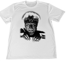 1960'S Horror Movie The Wolfman Monster Wicking T-Shirt w Flag Car Coaster - $14.80+