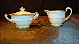 Noritake China Japan Goldora 882 Cream and Sugar with lid AA20-2140 Vintage image 7