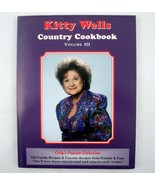 Singer Kitty Wells Country Cookbook Volume III Signed Autograph (from fa... - $24.75