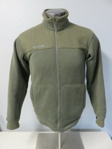 Mens Columbia Interchange Green Full Zip Jacket Polyester Size S Waffle ... - $29.69