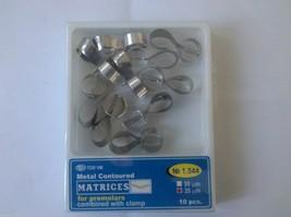 Dental Metal Contoured Matrices PreMolar,Combine & Clamp 10 pcs 1544- Fr... - $8.46