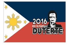Duterte For President Vinyl Flag Decal Sticker Made In The Usa F623 - $1.45+