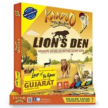 Kaadoo Board Game -Lion's Den-Central India Edition.Your safari on the g... - $29.19