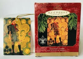 Hallmark Boy Scouts Tomorrow's Leader Christmas Holiday Ornament 1997 in... - $8.79