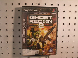 Ghost Recon 2 2007: First Contact PS2 Tom Clancy Game Ubisoft - $8.56