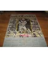 Musclemag Mr Olympia 1984-1991 Extra Large Poster LEE HANEY  - $39.99