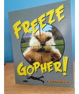 Caddyshack Freeze Gopher Metal Sign Golf Movie Murray Dangerfield Chase ... - $9.89
