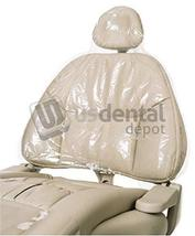 DEFEND- Full Chair Sleeve 29in x 79in Clear 125 Box - # BF-4500 (cover c... - $38.20