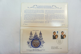 Charles & Diana First Day Cover Commemorative Medal, 1980 - $17.00