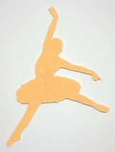 "1/4"" MDF Cut Out, BALLERINA 3 Unfinished, Made in the USA - $7.00+"