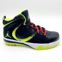 Jordan Phase 23 2 (GS) Black Volt Fire Red Kids Sneakers 602672 042 - $74.95