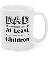 Dad Mug Gifts for Dad Father's Day Dad At Least You Don't Have Ugly Chil... - €14,07 EUR