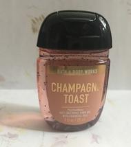 Bath and Body Works Champagne Toast Pocketbac hand gel  - $2.36