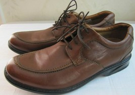 Clarks COLSON CAMP Mens 11.5 M Casual Walking Comfort shoes Brown Leathe... - $31.20