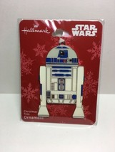 Hallmark STAR WARS R2D2 Flat Metal Christmas Ornament, 2018 NWT  M2 - $11.03