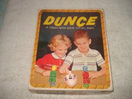 VINTAGE 1955 DUNCE GAME COMPLETE NICE SCHAPER - $39.99