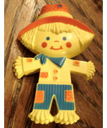 Avon SCARECROW Glace PIN Empty NO Perfume 1975 VTG Plastic Childrens Gift - $19.75