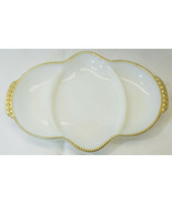 Anchor Hocking Fire King WareMilkglass USA Number 17 Candy Dish 11 inches - $12.73