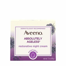 Aveeno Absolutely Ageless Restorative Night Cream Facial Moisturizer with - $25.29