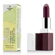 Clinique Pop Lip Colour + Primer - # 24 Rasperry Pop  - $40.00