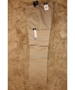 Dickies Girl's Wide Band Stretch Fabric Classic Fit Sz 15RG Khaki Pants ... - $14.80