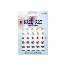 30  ZODIAC Sign TAURUS Nail Art DECAL Stickers - $4.60