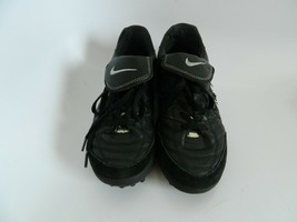 Nike Tiempo  2002 Black Mens Indoor Soccer Shoes Size 7.5 302252 00100 - $59.99