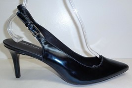 Calvin Klein Size 9 GIOVANNA Blue Patent Leather Pumps Heels New Womens ... - $117.81