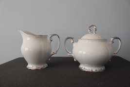 Bristol Nobility Sugar Bowl with lid and Creamer - $39.59