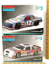 2 Monogram 1:24 Model Kits Buick Regal Stricklin #12 Raybestos + #8 Snic... - $32.68