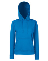 Fotl Lady-fit Classic Hooded Sweat Royal XL - $22.49