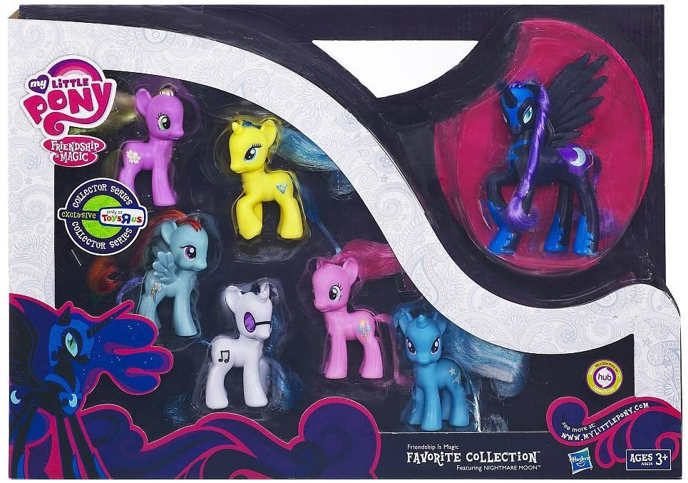 "Primary image for Nightmare Moon My Little Pony Friendship is Magic ""Favorite Collection"""