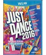 Just Dance 2016 (Nintendo Wii U, 2015) - $7.12