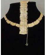 Vintage Hobe Gold-Tone Costume Jewelry Demi-Parure Set Necklace, Bracelet Earrin - $249.11