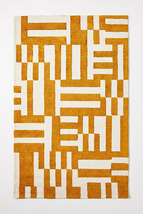 Anthropologie 5x8  8x10 9x12 Burke Wool Handmade Tufted Rug - $389.00+