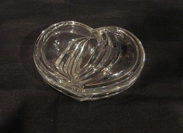 Contemporary Dazzling Lidded Crystal Heart Shaped Trinket Box  - $9.99