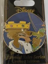 Prince John Robin Hood Dark Tales DSSH Disney Studio Store Hollywood LE300 Pin - $49.49