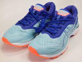 Asics GT 2000 v 6 Size US 7 M (B) EU 38 Women's Running Shoes Blue Aqua T855N image 3
