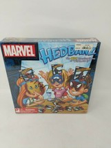 Marvel Hedbanz Board Game New In Box Spiderman Iron Man Captain America ... - $24.74