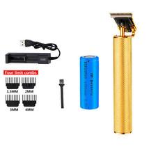 USB Hair Clipper Professional Baldheaded Electric hair Cordless Shaver T... - $16.61+