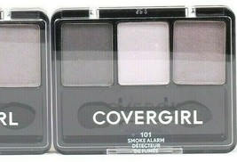 1 Ct Covergirl 0.14 Oz 101 Smoke Alarm Eye Enhancers 3 Palette Blendable Shadow - $13.99