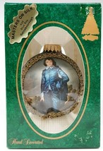 Masters on Silk Ornament Blue Boy Glass Christmas A48 Krebs Gainsbouroug... - $19.79