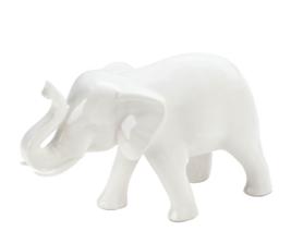 Sleek White Elephant Figurine - $31.03