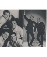 """The Four Seasons & 3 1/2"""" X 5 1/2"""" B/W Picture with Autobiography by BIL... - $1.75"""