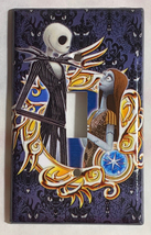 Nightmare Sally & Jack Light Switch Duplex Outlet wall Cover Plate Home decor image 1