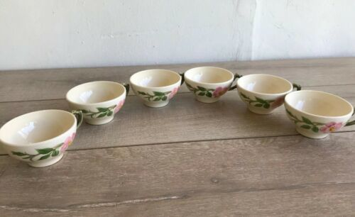 Set 6 Franciscan Desert Rose Tea Cups and Saucers Made in USA image 11